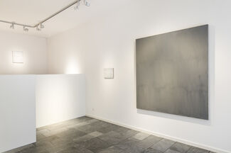 Raimund Girke - Touched in White, installation view