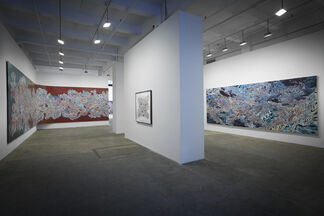 Emilio Perez : Footprints on the Ceiling, installation view