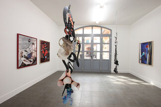 """Kate Steciw """"Shapes of Things"""", installation view"""