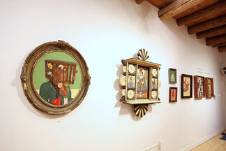 Vicente Telles: Convergence: of Time and Place, installation view