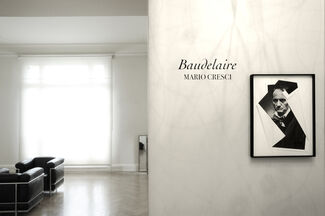 """Baudelaire"", Mario Cresci, installation view"