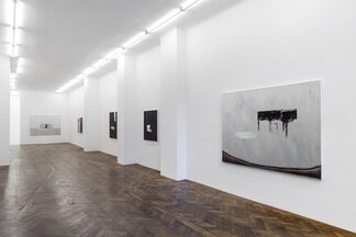 """""""Ein Brief"""" - Recent paintings by Dexter Dalwood. curated by_Michael Bracewell, installation view"""