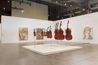 ART GOES LOGOMO, installation view