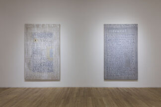 Beryl Korot: A Coded Language, installation view