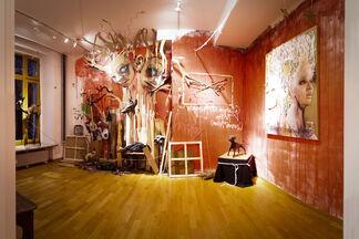 Herakut - Brainy Days, installation view