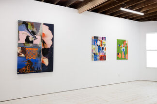 Molly Zuckerman-Hartung: That being said, I'm oscillating between Comic Relief and Boundaries, installation view