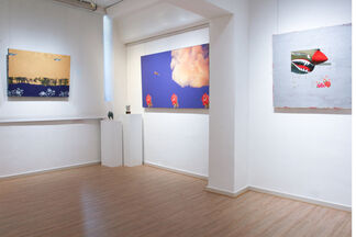 Passing Through The Gardens, installation view