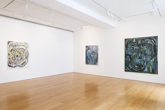 Thomas Houseago: Psychedelic Brothers - Drawn Paintings, installation view