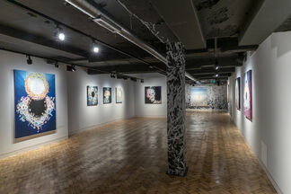 Come Together, Far Away, installation view