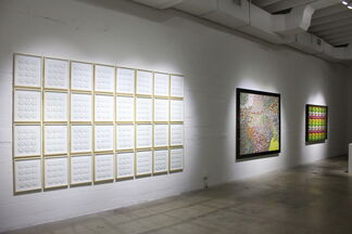 """Nelson Leirner """"Who's Who"""", installation view"""