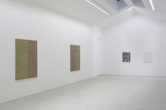 Group Show feating works by John Henderson, installation view