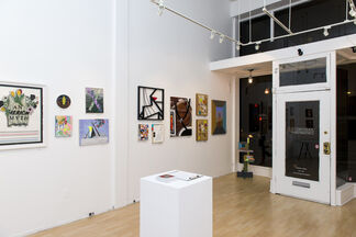 """""""TOMORROW"""" - a group show, installation view"""