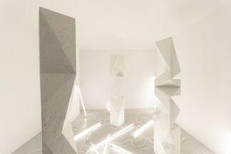 Aldo Chaparro site-specific installation Paris, installation view