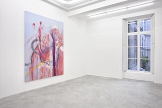 Julian Schnabel 'Jack Climbed Up The Beanstalk To The Sky Of Illimitableness Where Everything Went Backwards', installation view