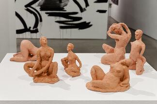 Mira Dancy and Sarah Peters: BODYRITE, installation view