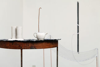 """Pier Paolo Calzolari """"Che ne è del sogno """", installation view"""