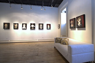 QUIETUS new paintings by RICHARD BUTLER, installation view