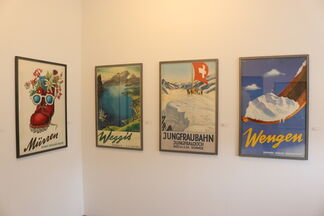 Mountain Views: Swiss Travel Posters from the Dana/Spencer Collection, installation view
