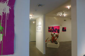 Ushio Shinohara: ACTION! Boxing Paintings and Sculptures, installation view