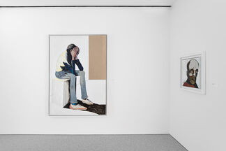 Benny Andrews: Portraits, A Real Person Before the Eyes, installation view