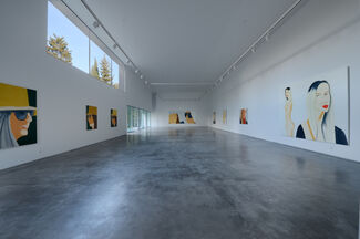 ALEX KATZ: PORTRAITS, installation view