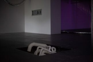 Wheezing, installation view