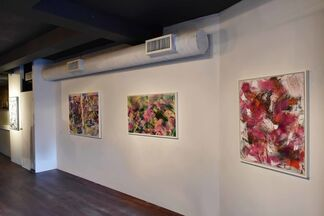Pour Paintings, installation view