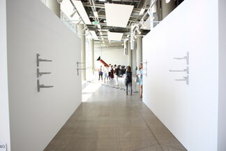 """Cabinet of Nature Gourmand at """"Unit 1 Gallery Workshop"""" in London, installation view"""