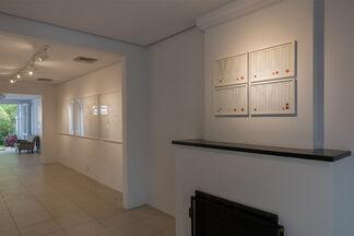 """""""Paisagem Cega e Outras Estórias"""" Solo show by Lina Kim, installation view"""