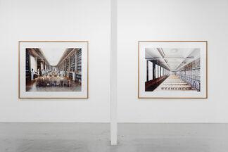 """Candida Höfer - """"Paris revisited"""", installation view"""