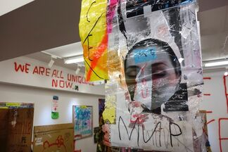 """Part 1 / """"I Don't Want to Grow Up"""" by Wataru Komachi, installation view"""