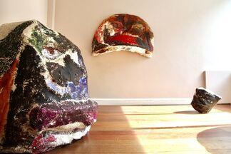 Rachel Jones, The Black In Their Face, installation view