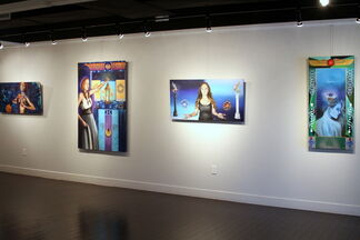 Between Here and Next, installation view