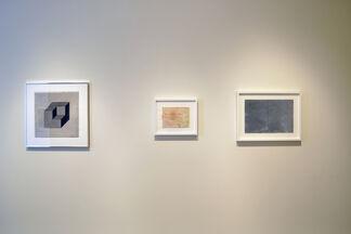 SUMMER SERIES III - Works on Paper: Peter Alexander, Larry Bell, Joe Goode, Robert Irwin, Sol LeWitt, Ed Moses & David Reed, installation view