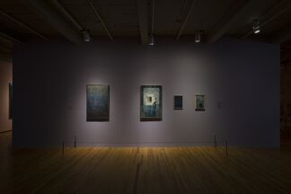 The Lure of the Dark: Contemporary Painters Conjure the Night, installation view