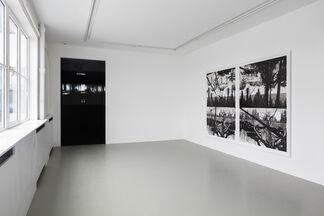 Yehudit Sasportas - Vertical swamps - HAMAKOM, installation view