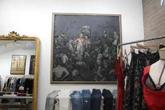 Fashion and Art Collide, installation view