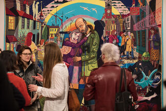 Julie Cope's Grand Tour: The Story of a Life by Grayson Perry, installation view