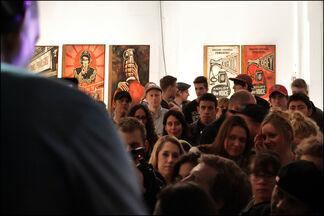 Shepard Fairey: Sound & Vision, installation view