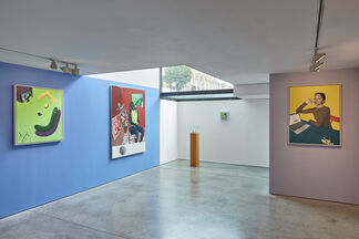 Tristan Pigott: Juicy Bits, installation view