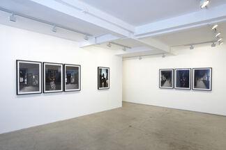 Leonce Raphael Agbodjelou, Demoiselles de Porto Novo, installation view