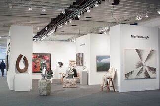 Marlborough Gallery at The Armory Show 2015, installation view