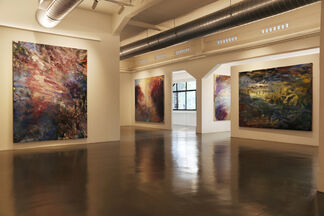 Frank Holliday, installation view