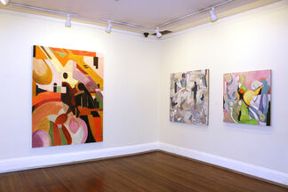 Lois Dickson: New Worlds, installation view