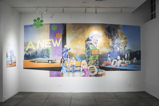 Oscillation: An Exhibition About Painting, curated by Dan Cameron, installation view