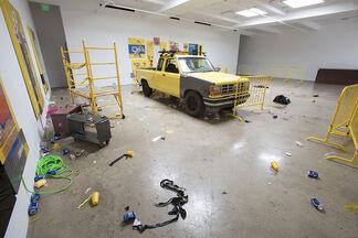Caution: Wet Floor, installation view