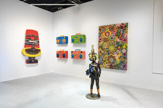 Lawrie Shabibi at The Armory Show 2019, installation view