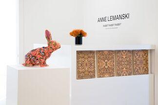 Anne Lemanski: RABBIT RABBIT RABBIT, installation view