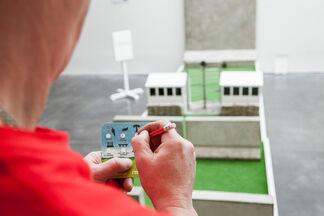 Doug Fishbone's Leisure Land Golf, installation view