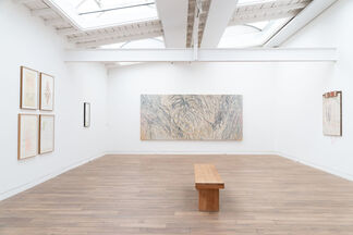 'Gerhard Hoehme - da war jemand' ('Gerhard Hoehme - someone was there'), installation view